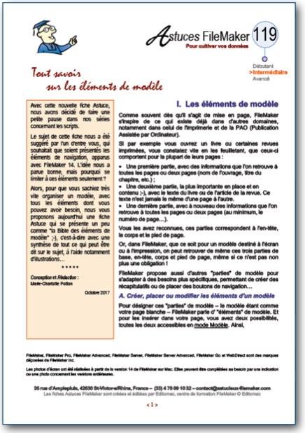 Fiche Astuce n°119