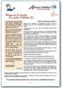 Fiche Astuce FileMaker n°136